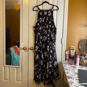 Torrid - Chiffon Hi-Lo Midi Dress